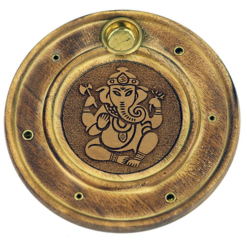 Duel Incense Holder - Ganesh