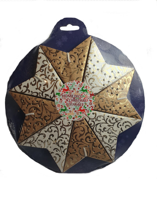 Mini Star Christmas Decorations