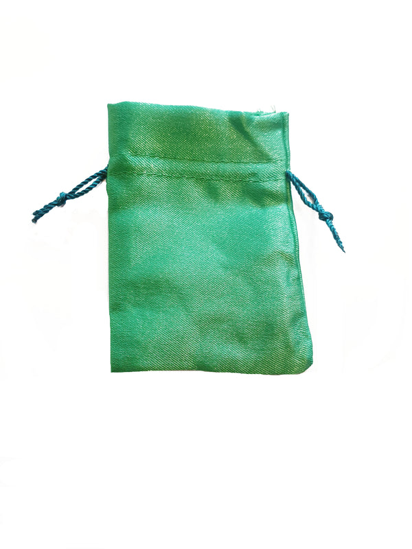 Green Crystal Pouch - Small