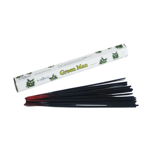 Green Man Incense Sticks