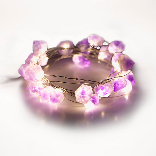 Amethyst Fairy Lights