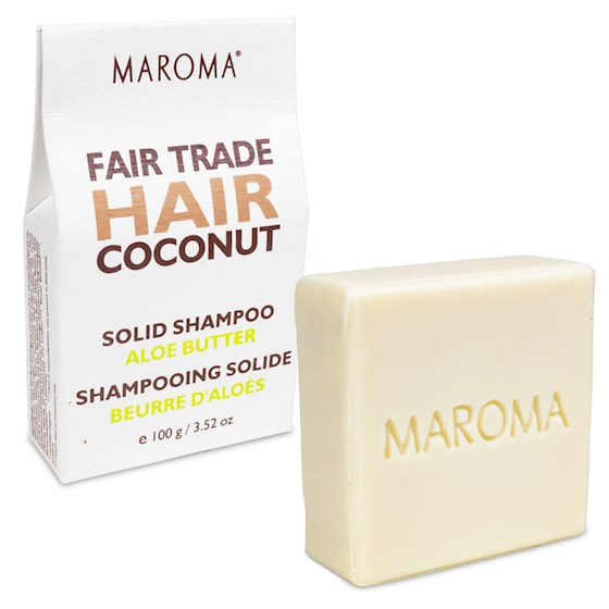 Maroma Hair Coconut & Aleo Butter Shampoo Bar