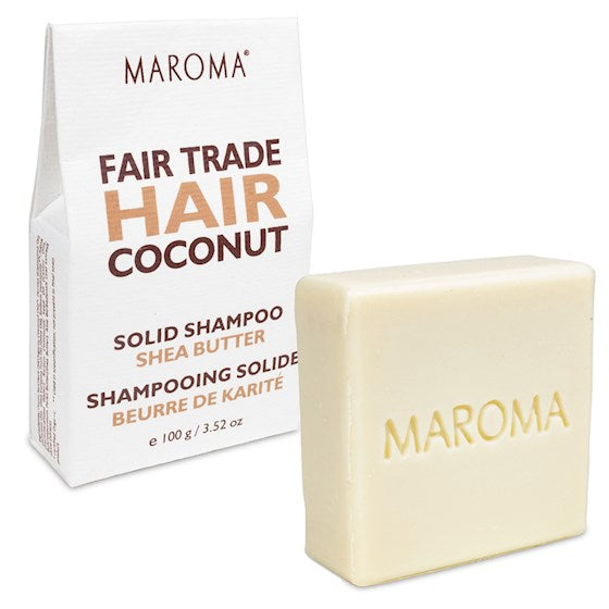 Maroma Hair Coconut & Shea Butter Shampoo Bar