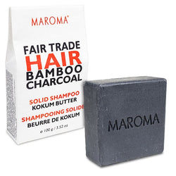 Maroma Hair Bamboo Charcoal Shampoo Bar