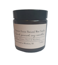 Heaven Natural Wax Candle - Lime Basil & Mandarin.