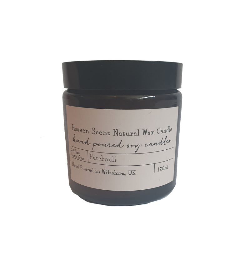 Heaven Natural Wax Candle - Patchouli