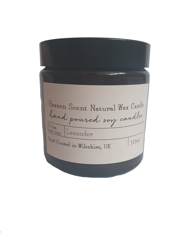 Heaven Natural Wax Candle - Lavender
