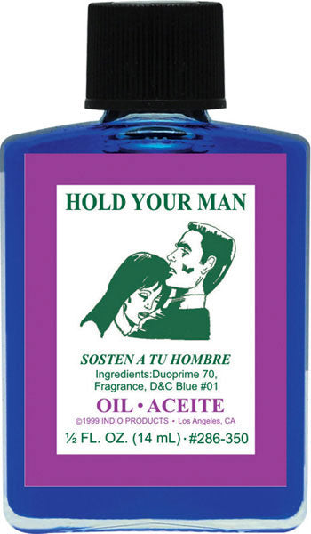 Hold Your Man Oil