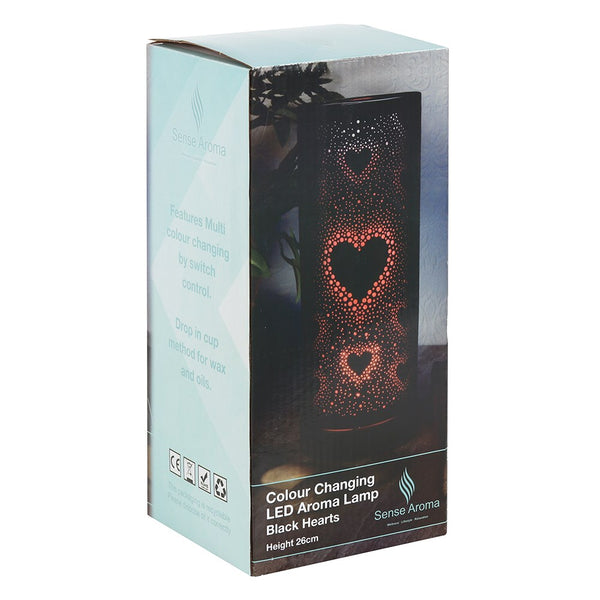 Black Heart LED Oil/Wax Burner