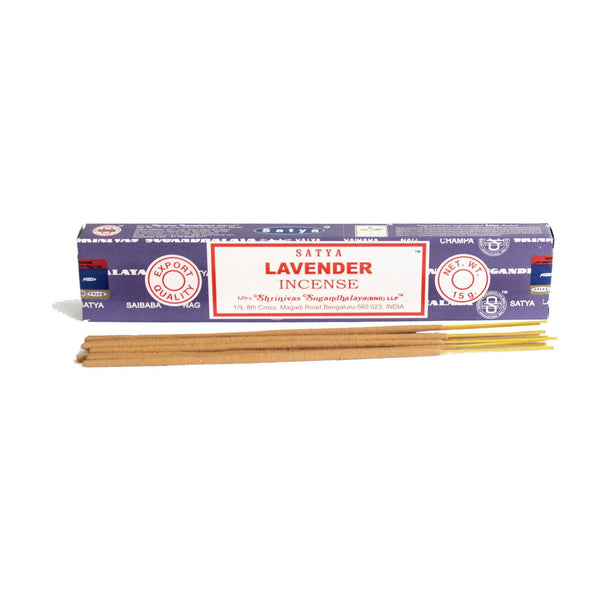 Lavender Incense Sticks Satya