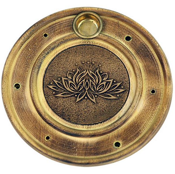 Duel Incense Holder - Lotus