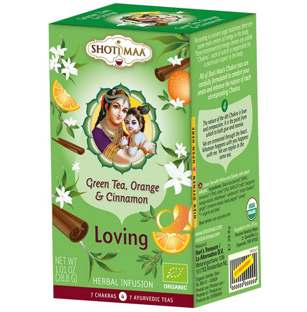 Organic Chakra Shoti Maa Herbal Tea - Loving