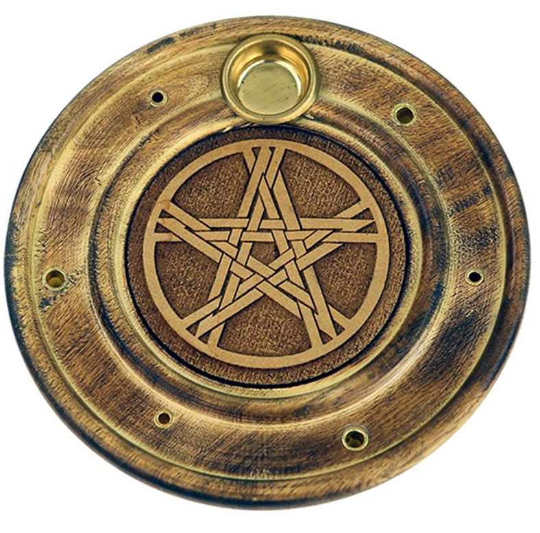 Duel Incense Holder - Pentagram