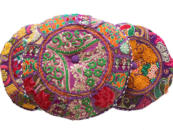 Meditation Cushion - Purple