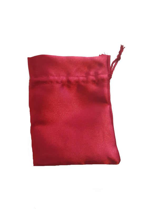 Red Crystal Pouch - Large