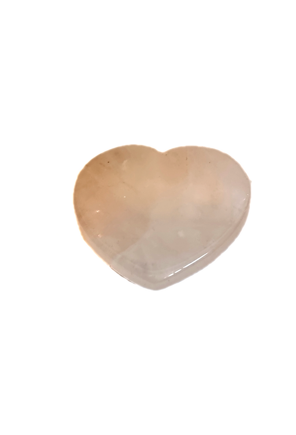 Rose Quartz Heart Crystal Phone Holder