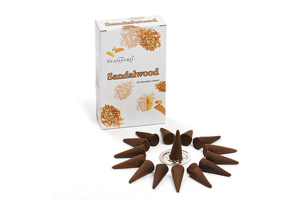 Sandalwood Incense Cones