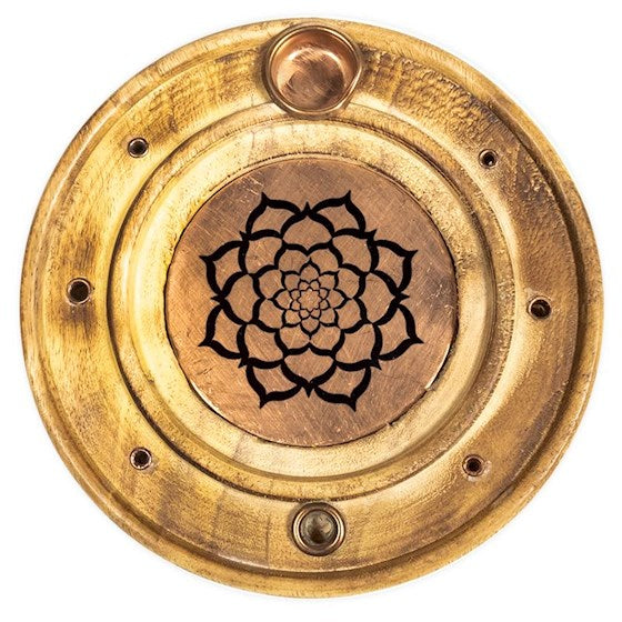 Duel Incense Holder - 'Shiny Lotus'