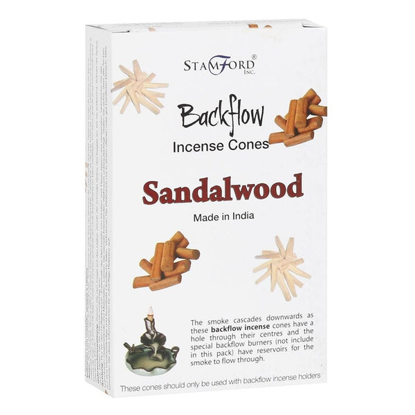 Stamford Sandalwood Backflow Incense Cones
