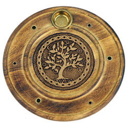 Duel Incense Holder - Yoga Tree
