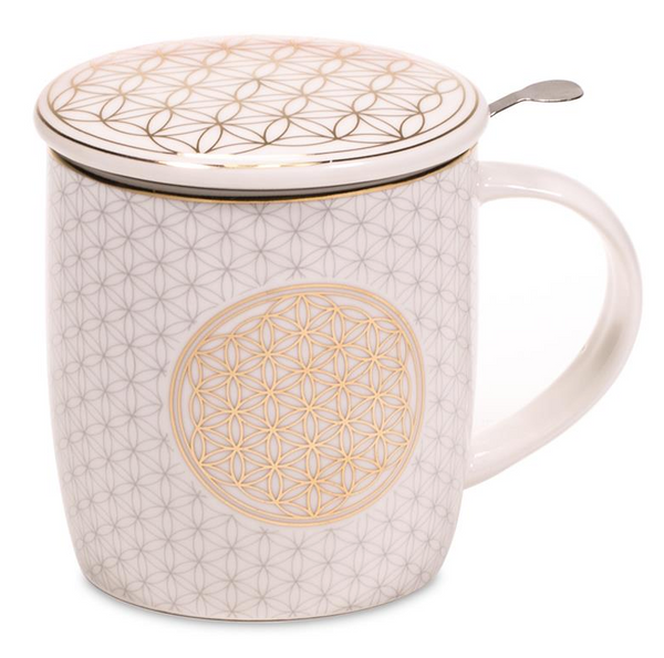Tea Infuser Mug - Tree Of Life