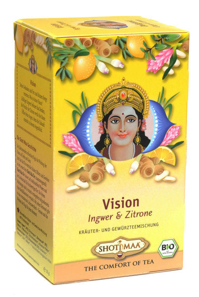 Organic Chakra Shoti Maa Herbal Tea - Vision