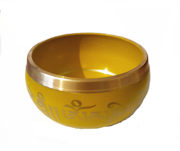 Yellow Singing Bowl
