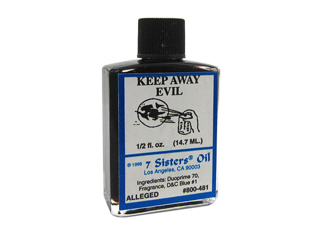 Keep Away Evil Oil