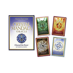 Crystal Mandala Oracle Cards