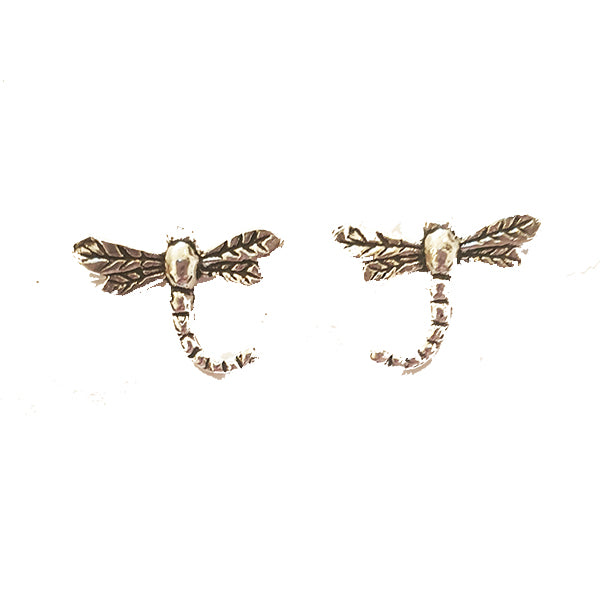 Dragonfly Silver Studs
