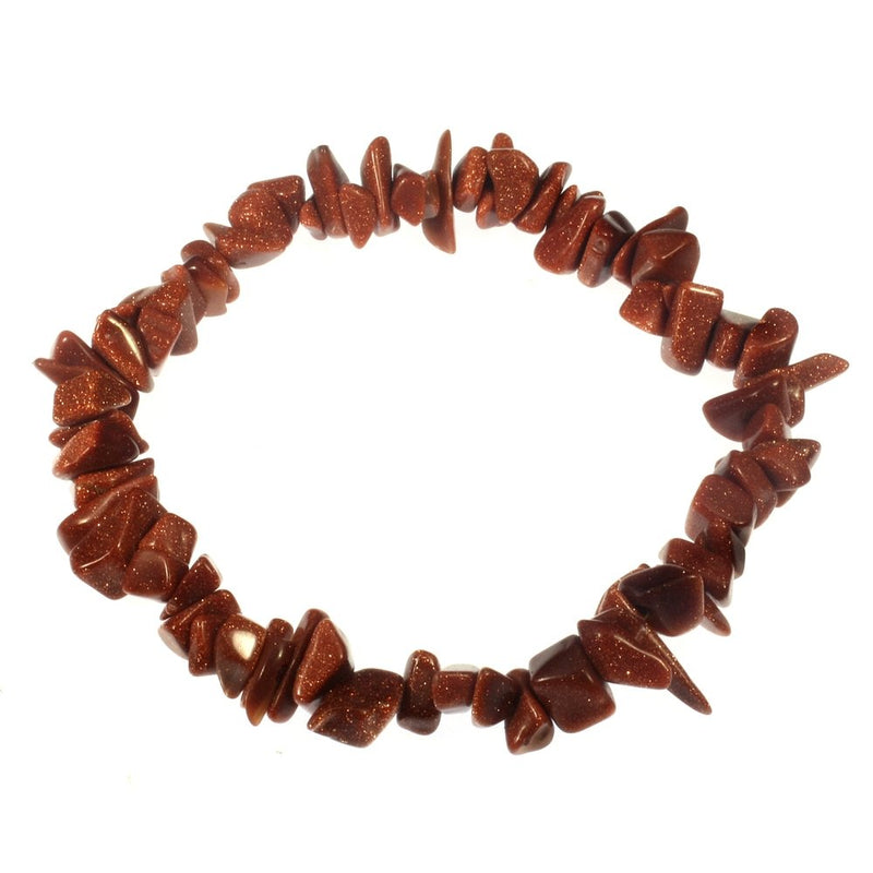 Goldstone Chip Bracelets