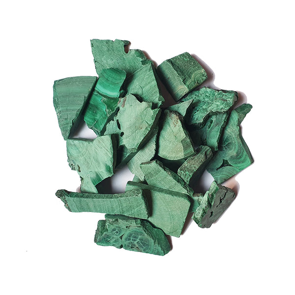 Malachite, Raw