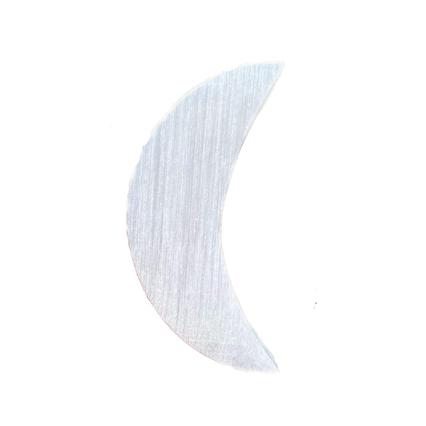 Selenite Crescent Moon
