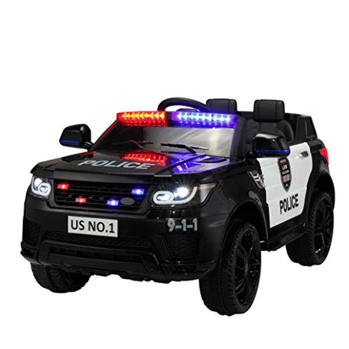 Police Car Electric with Remote Control 12V Ride On Toy