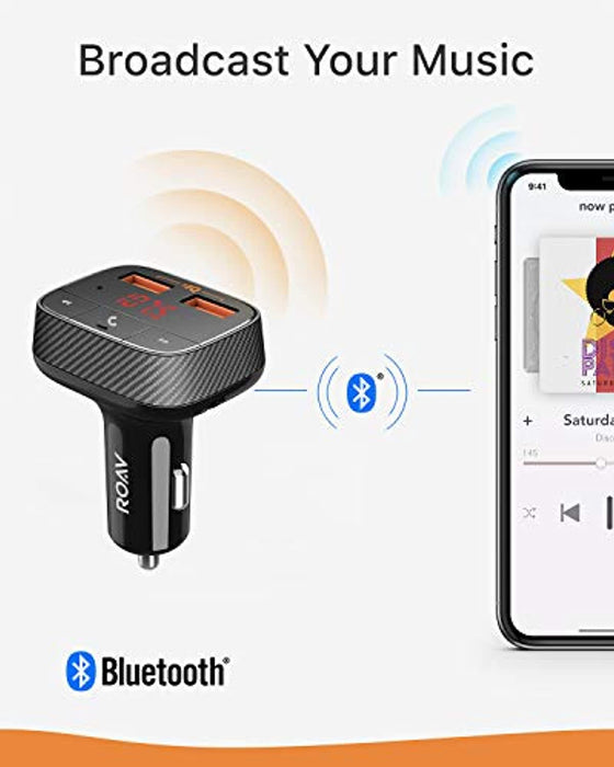 Anker SmartCharge Bluetooth FM Transmitter for Car
