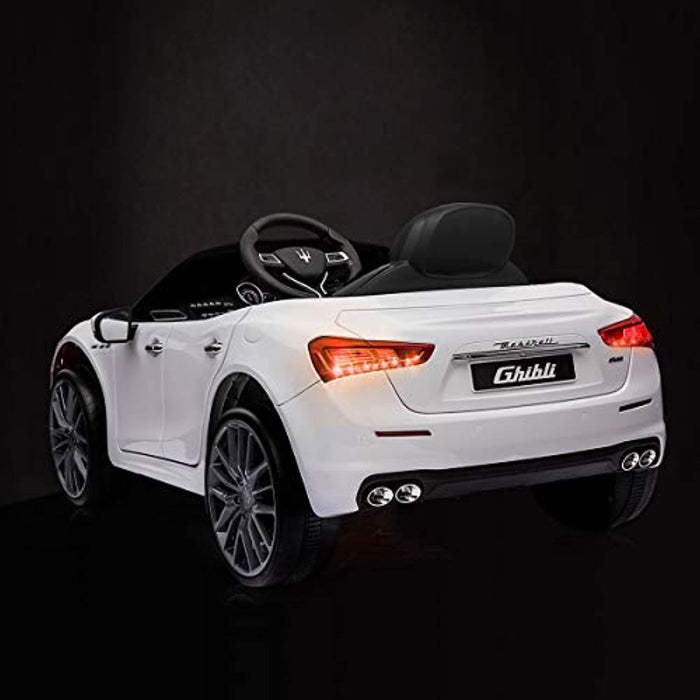 Maserati 12V Rechargeable Toy Vehicle w/ MP3 Remote Control