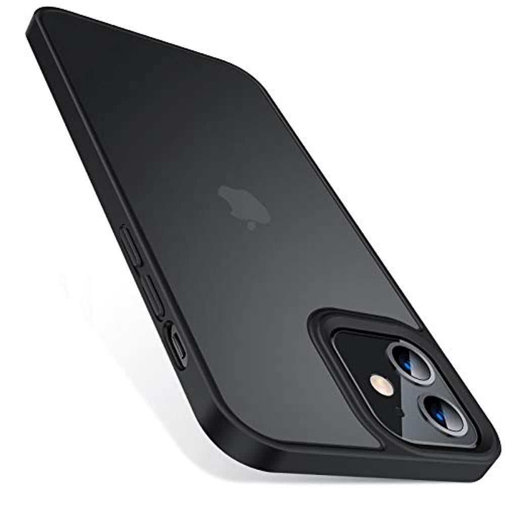 Translucent Matte Shockproof iPhone 12 Mini Case