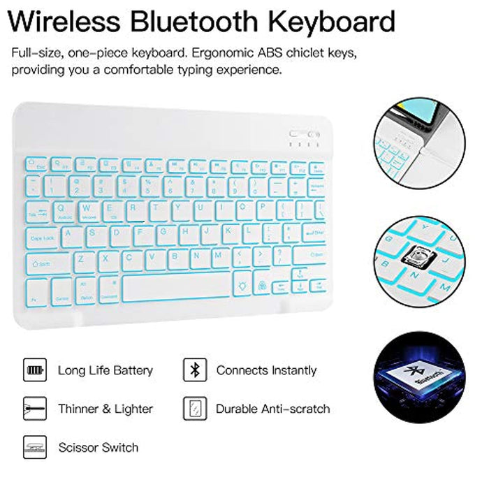 Backlit Keyboard Case for iPad Pro 2020 2nd Gen.