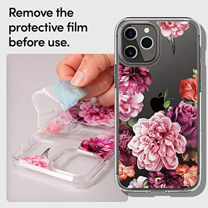 Rose & Floral Designed for Apple iPhone 12 Pro Max Case