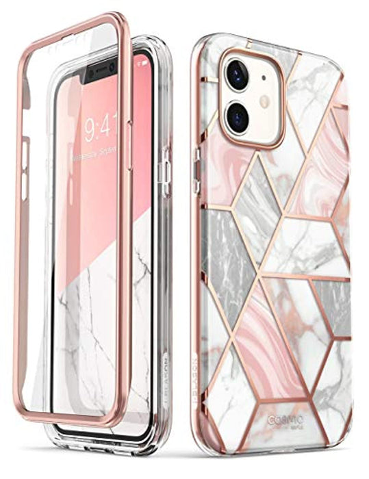 Marble Cosmo Series Designed for iPhone 12 Mini Case