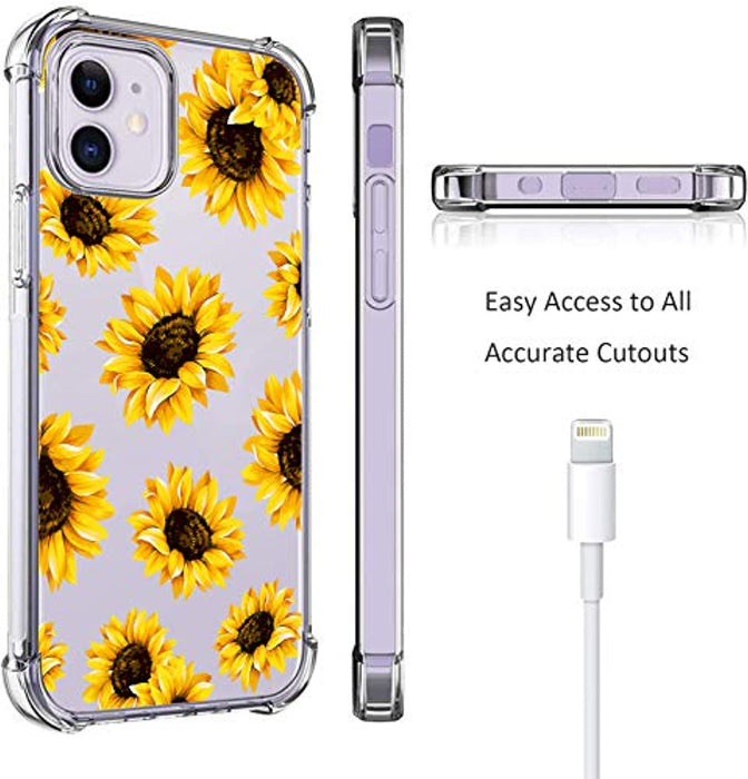 Sunflower Blossom iPhone 12 iPhone 12 Pro Case