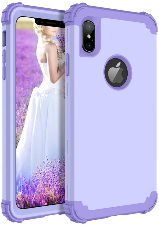 iPhone XS Max Shockproof Hybrid 3 in 1 Case
