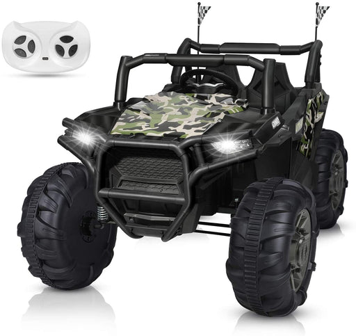 2 Seater Camouflage Truck with Remote Control