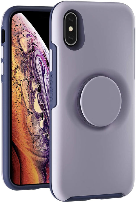iPhone X/Xs Purple 2 in 1 Hybrid Case