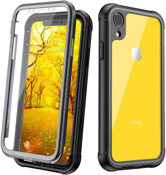 iPhone XR Clear Full Body Heavy Duty Case