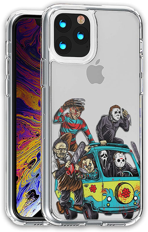 Halloween Mystery Machine Hybrid case  iPhone 12 Pro Max Mini 11 XR X 7 8 Plus SE