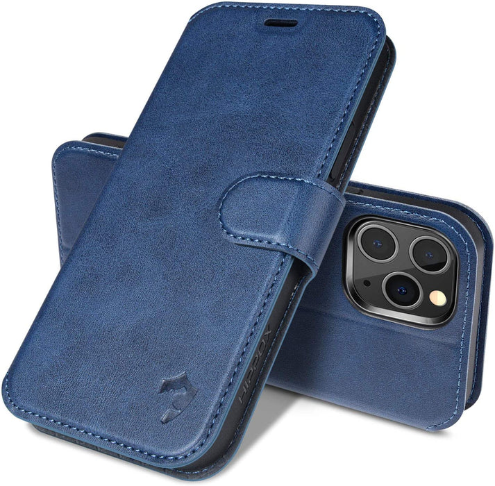 Wallet Case [Ultra Slim] [Magnet Closure]  Leather Flip Case Compatible with iPhone 12 Pro Max