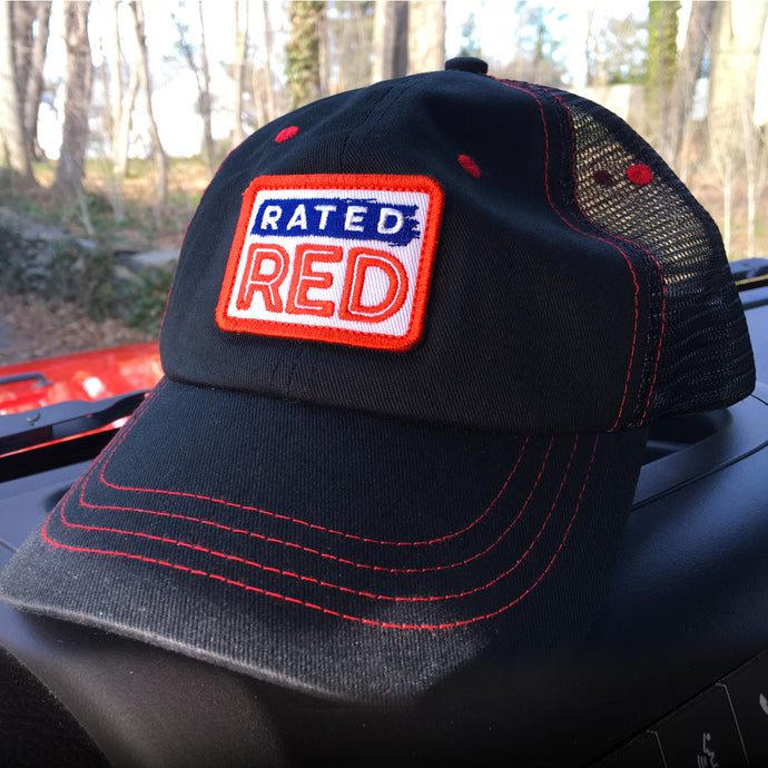 Rated Red Hat (Black)