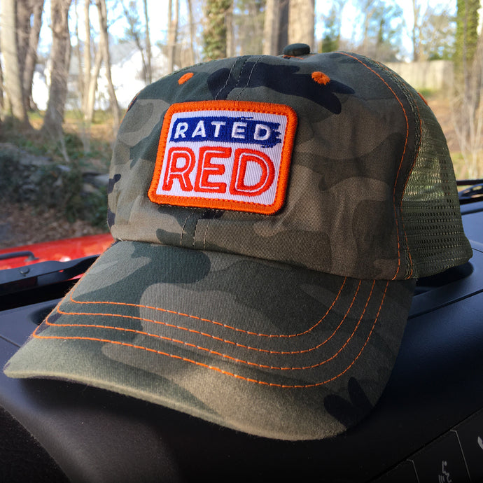 Rated Red Hat (Camo)