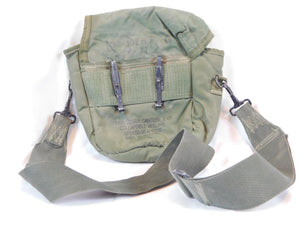Authentic Used 80's US Army Canteen Bag (Green)